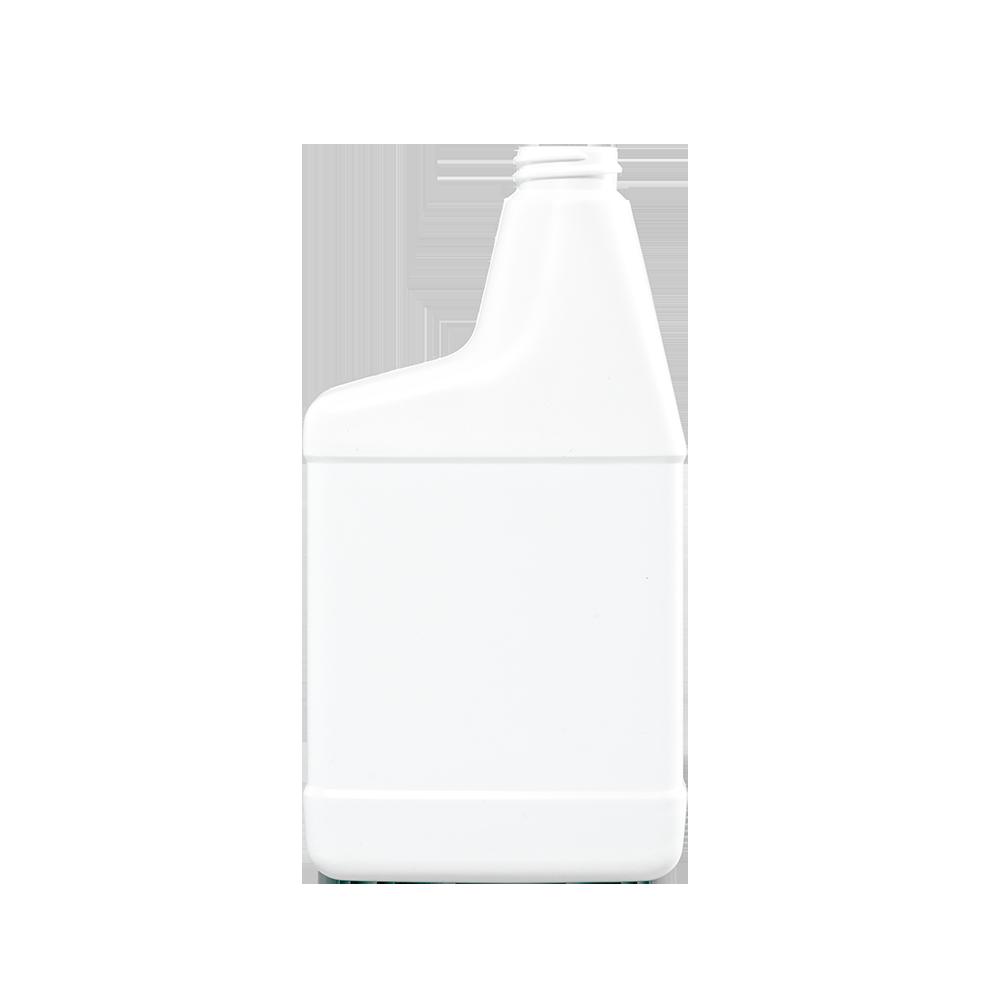 22-24 oz. White HDPE Plastic RTU Sprayer Bottle, 28-400