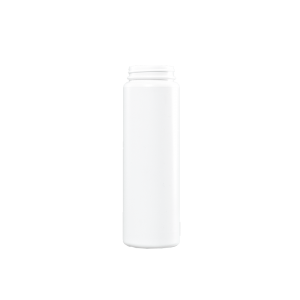 32 oz White HDPE Plastic Wide Mouth Container, 63mm Squeeze Lock
