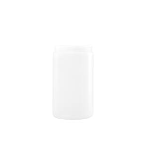 32 oz Natural HDPE Plastic Wide Mouth Cylinder Container, 89-400