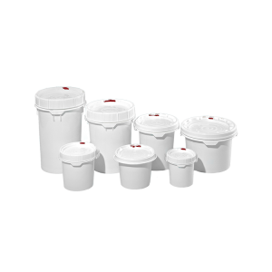 Plastic Round Screw Top Pails