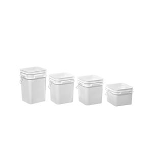 Plastic Square Open Head Pails