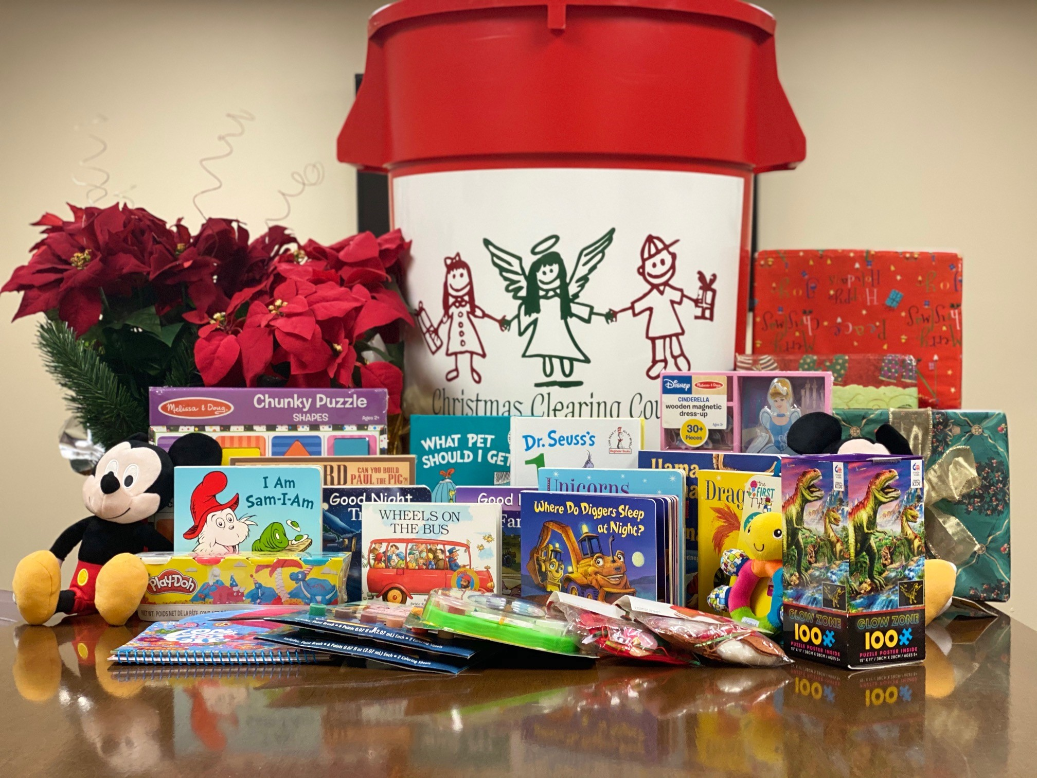 Christmas Clearing Council Toy and Book Drive 2019