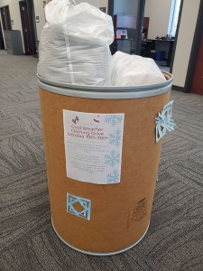 Clothing Donation Drum