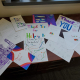 Thank you cards from Greenfield students